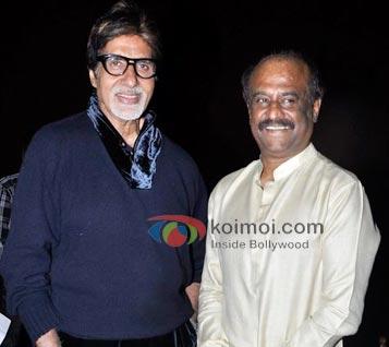 Amitabh Bachchan: Rajnikanth Is Like God