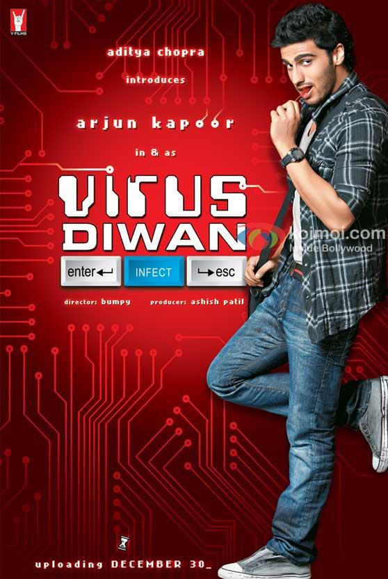 Arjun Kapoor (Virus Diwan Movie Poster)