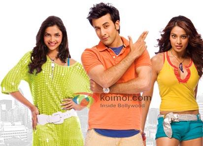Deepika Padukone, Ranbir Kapoor, Bipasha Basu (Bachna Ae Haseeno Movie Stills)