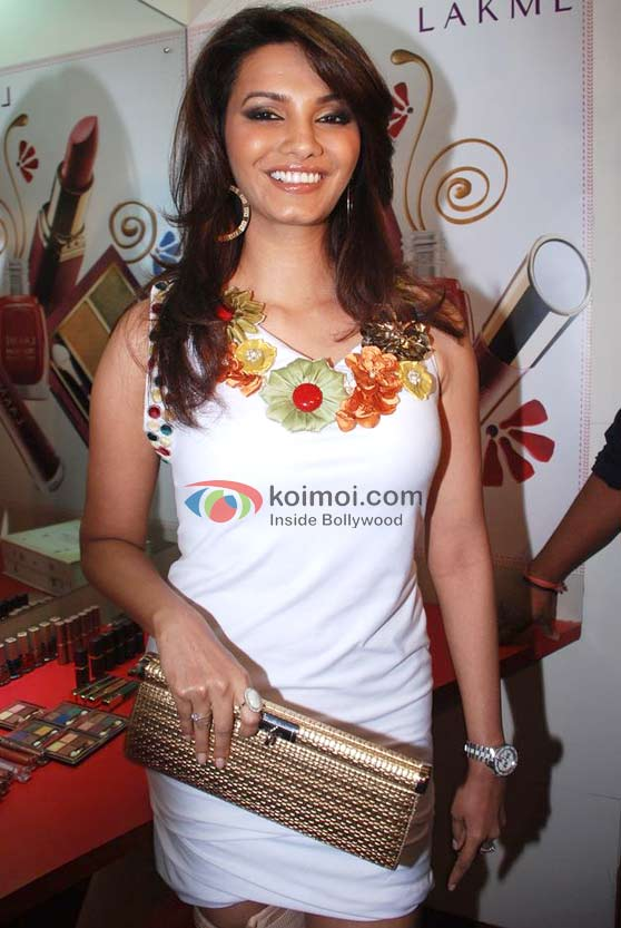 Diana Hayden In A Floral Dress