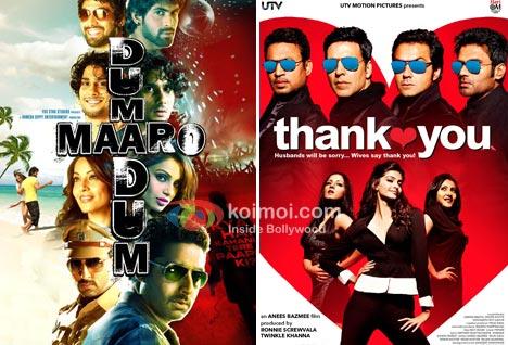 Dum Maaro Dum Movie Poster, Thank You Movie Poster