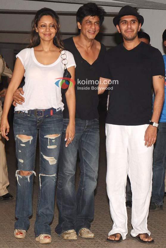 Gauri Khan, Shah Rukh Khan, Ritesh Sidhwani