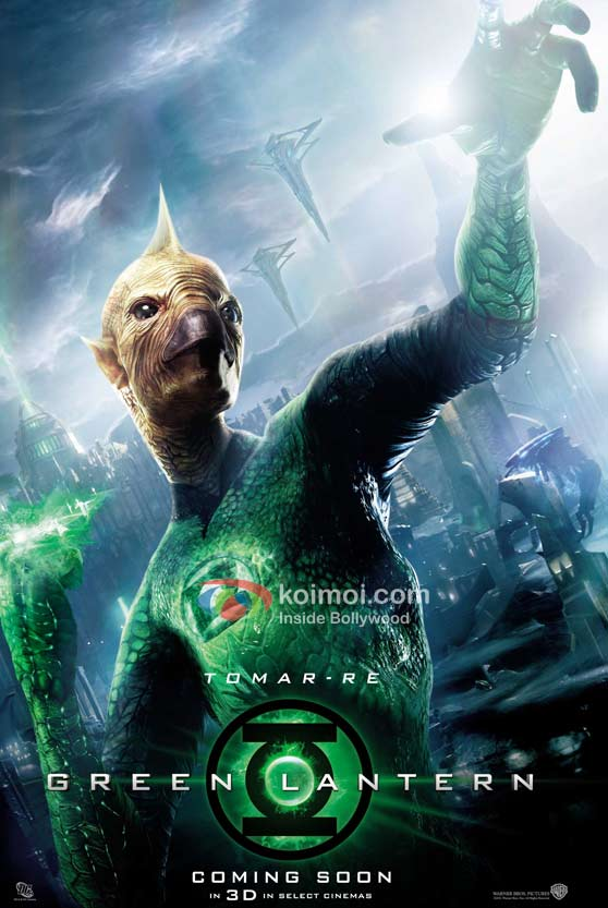 Geoffrey Rush (Green Lantern Movie First Look Poster)