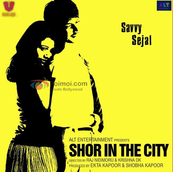 Girija Oak, Sundeep Kishan Shor In The City Movie Poster