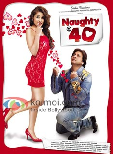 Govinda's Naughty @ 40 Gets Green Signal From High Court (Govinda's Naughty @ 40 Movie Poster)