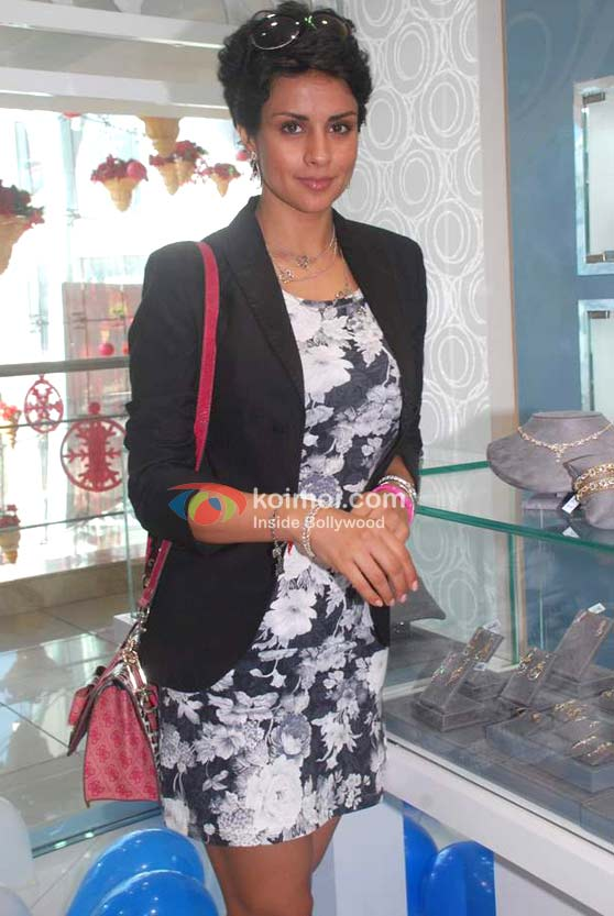 Gul Panag In A Floral Dress