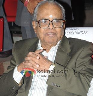 K. Balachander Gets Dadasaheb Phalke Award