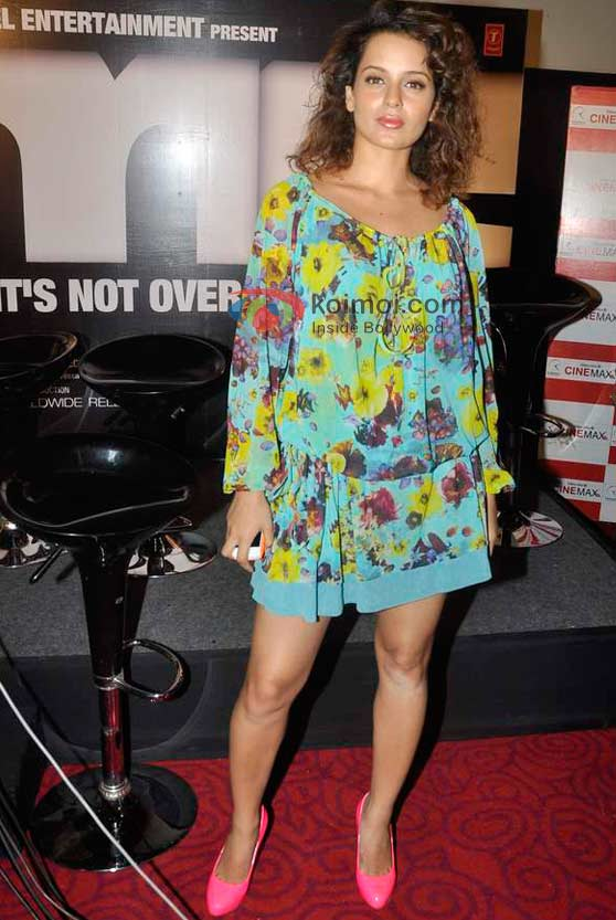 Kangana Ranaut In A Floral Dress