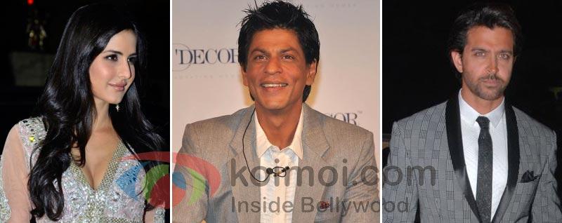 Katrina Kaif Prefers Shah Rukh Khan Over Hrithik Roshan?