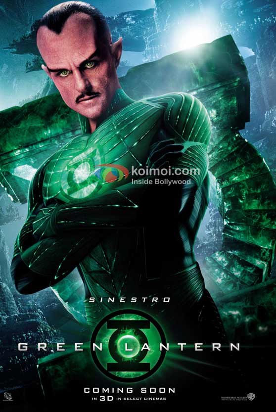 Mark Strong (Green Lantern Movie First Look Poster)