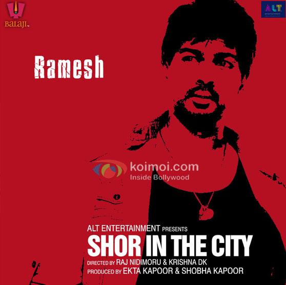 Nikhil Dwivedi Shor In The City Movie Poster