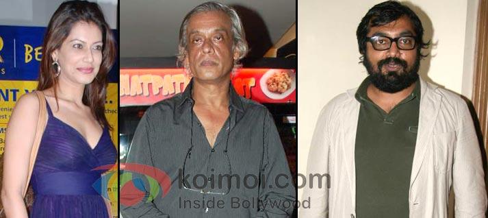 Payal Rohatgi, Sudhir Mishra, Anurag Kashyap