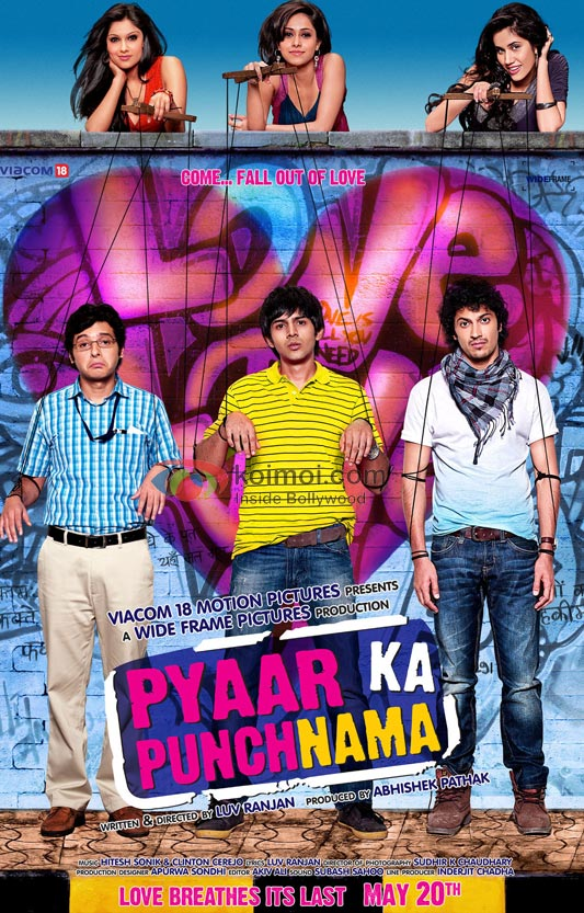 Pyaar Ka Punchnama Movie First Look Poster