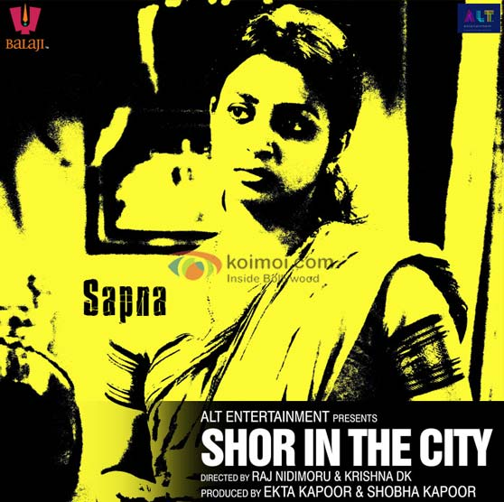 Radhika Apte Shor In The City Movie Poster