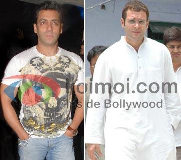 Rahul Gandhi Is Salman Khan's Special Guest