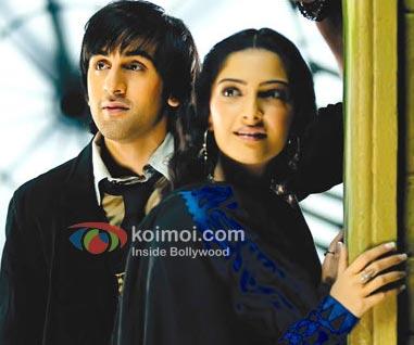 Ranbir Kapoor, Sonam Kapoor (Saawariya Movie Stills)