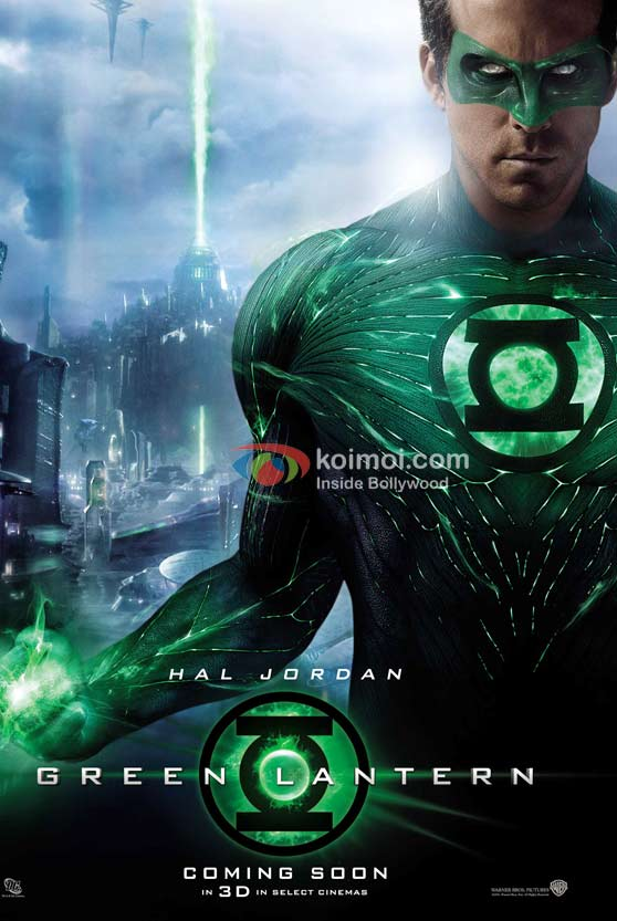 Ryan Reynolds (Green Lantern Movie First Look Poster)