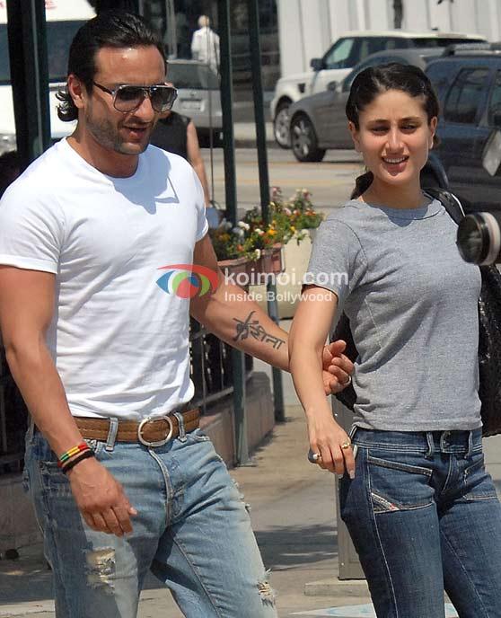 Saif Ali Khan Assures Kareena Kapoor Tattoo Still There (Saif Ali Khan, Kareena Kapoor)