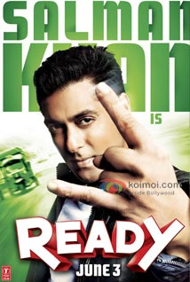 Salman Khan's Magic Works For Ready (Salman Khan Ready Movie Poster)
