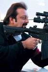 Sanjay Dutt takes aim in Knock Out Movie