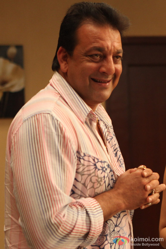 Sanjay Dutt grins in Rascals Movie