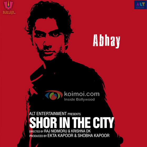 Sendhil Ramamurthy Shor In The City Movie Poster