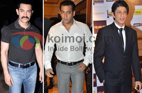 Aamir Khan, Salman Khan, Shah Rukh Khan: Yash Raj Films' Dream Team
