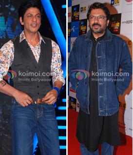 Shah Rukh Khan & Sanjay Leela Bhansali