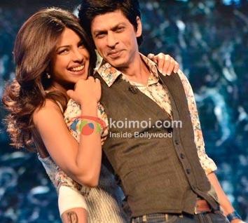 Shah Rukh Khan Turns Priyanka Chopra's Bodyguard