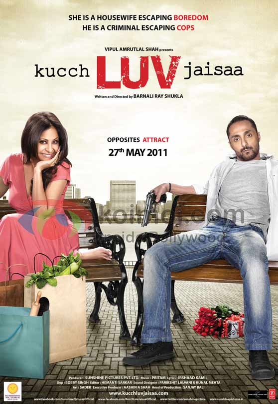 Shifaali Shah, Rahul Bose (Kucch Luv Jaisaa Movie First Look Poster)