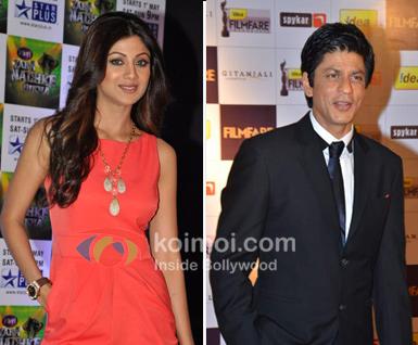 Shilpa Shetty & Shah Rukh Khan's IPL Cheers