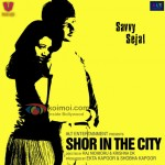 Sundeep Kishan, Girija Oak (Shor In The City Movie Posters)