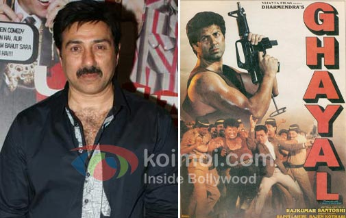 Sunny Deol Plans Sequel To Ghayal