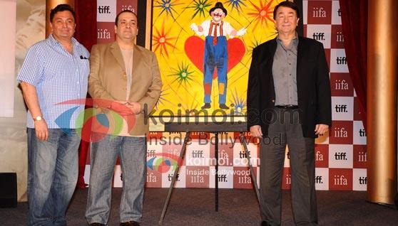 TIFF & IIFA's Tribute To Raj Kapoor (Rishi Kapoor, Rajiv Kapoor, Randhir Kapoor)