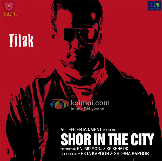 Tusshar Kapoor Shor In The City Movie Poster