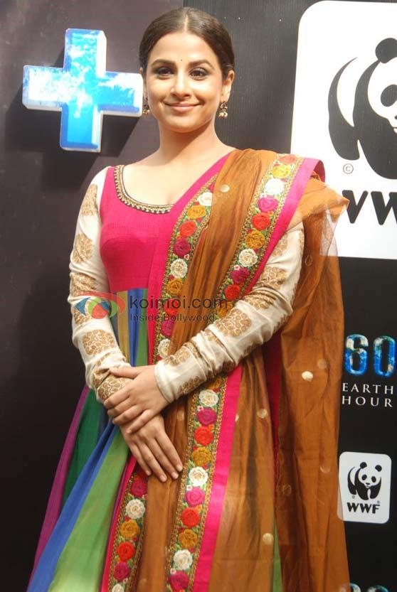 Vidya Balan In A Floral Dress