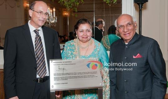 Yash Chopra & Switzerland: Awards, A Suite & A Train! (Yash Chopra Ambassador of Interlaken)