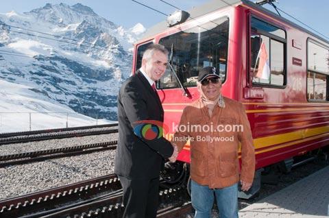 Yash Chopra & Switzerland: Awards, A Suite & A Train! (Yash Chopra Jungfrau Railways Train)