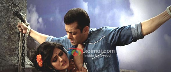 Zarine Khan, Salman Khan Ready Movie Character Dheela Song