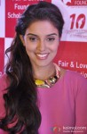 Asin Thottumkal at the 10th year anniversary celebration of Fair and Lovely foundation