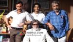 Saif Ali Khan, Prateik Babbar, Prakash Jha, Amitabh Bachchan (Aarakshan Movie Stills)