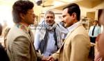 Manoj Bajpayee, Prakash Jha, Saif Ali Khan (Aarakshan Movie Stills)