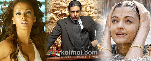 Aishwarya Rai, Abhishek Bachchan ('Dhoom 2', 'Guru' Movie Stills)