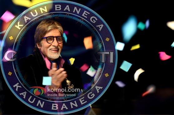 Amitabh Bachchan's New Look For Kaun Banega Crorepati