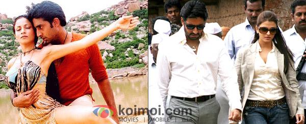 Antra Mali, Abhishek Bachchan ('Naach' Movie Stills), Abhishek Bachchan, Aishwarya Rai Shoots For 'Sarkar Raj' Movie