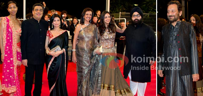 Bollywood: The Greatest Love Story Ever Told At Cannes (Ronnie Screwvala (UTV), Trishya Screwvala, Shekhar Kapur)