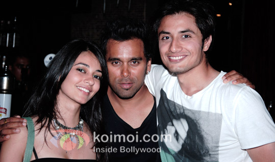 Katrina Kaif, Imran Khan At Ali Zafar's Birthday Bash
