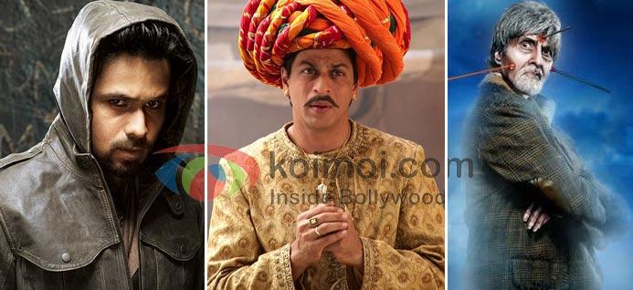 Bollywood Horror Movies (Emraan Hashmi In Raaz 2 Movie Stills, Shah Rukh Khan In Paheli Movie Stills, Amitabh Bachchan In Bhoothnaath Movie Stills)