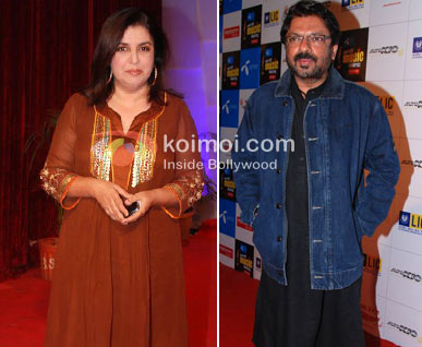 Farah Khan To Turn Actor For Sanjay Leela Bhansali