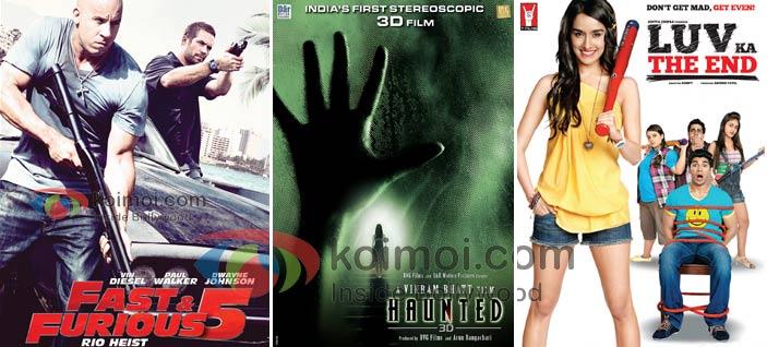 Friday BO: 'Fast & Furious 5' Beats 'Haunted' & 'Luv Ka The End'